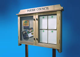 parish council notice board
